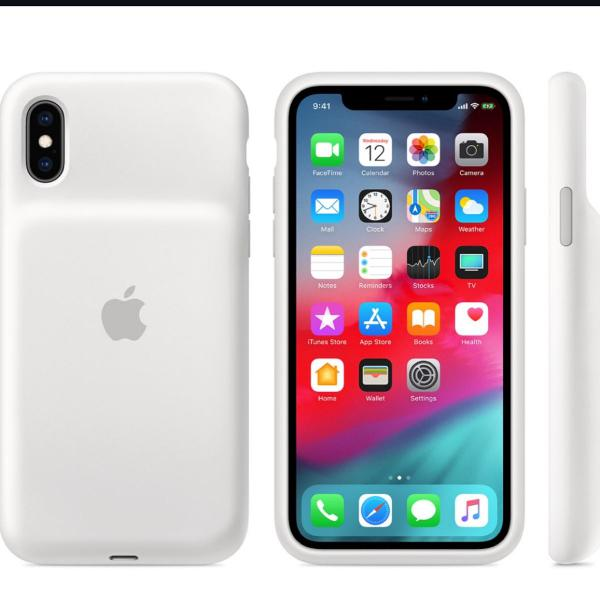 Capinha carregadora iphone xs