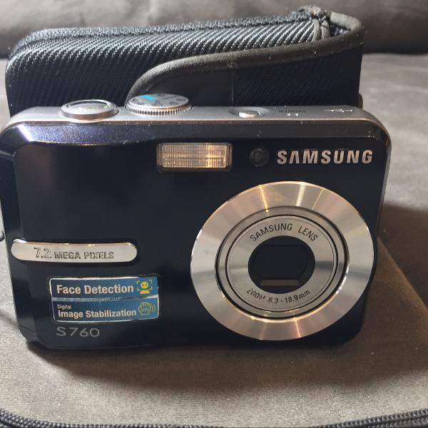 Câmera digital samsung s760