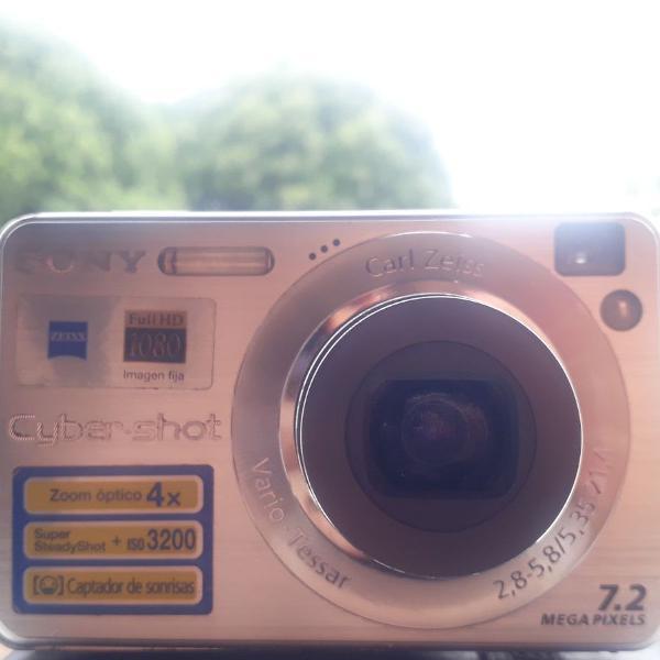 Câmera digital sony cybershot 7.2mp