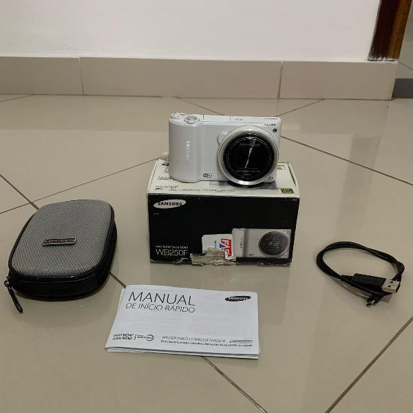 Câmera fotográfica samsung wb250f