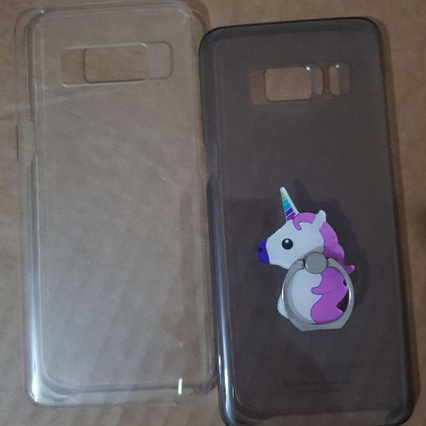 Kit capinha celular samsung s8