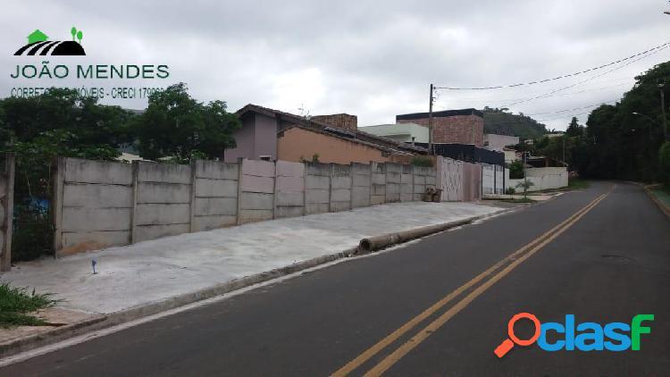 Terreno à venda no jardim paulista em atibaia/sp.