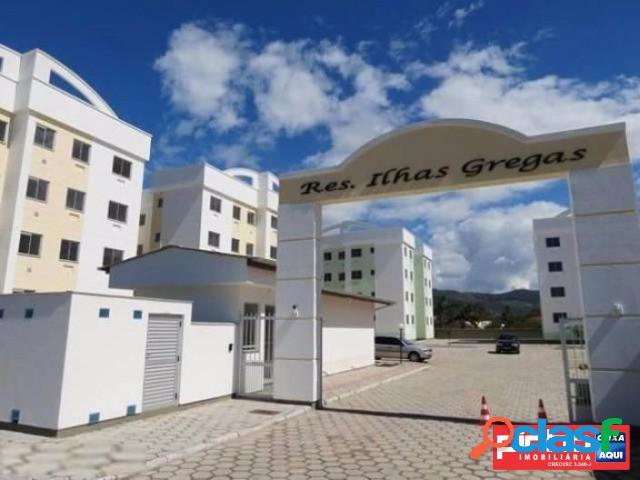 Apartamento 02 dormitórios, residencial ilhas gregas, venda direta caixa, bairro aririú, palhoça, sc, assessoria gratuita na pinho