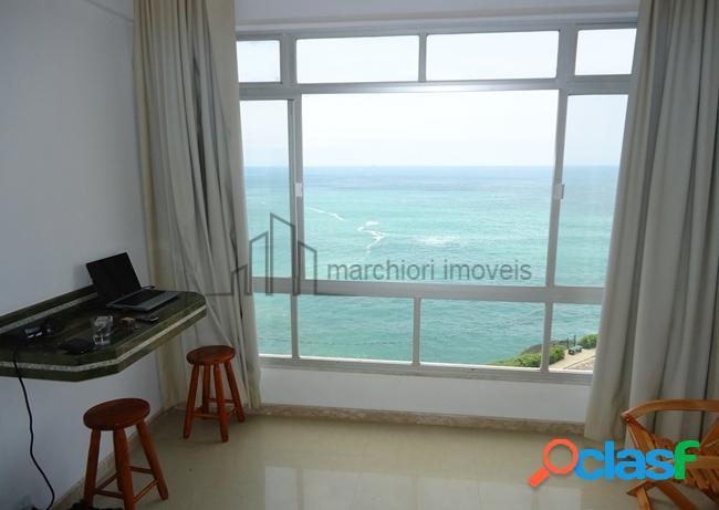 Apartamento 1 dormitório 2 banheiros frente pro mar