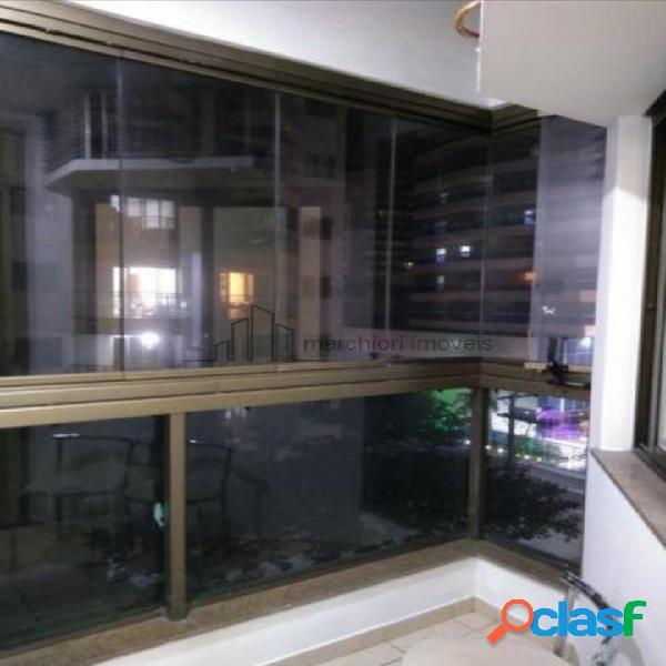 Apartamento 1 quarto praia da costa 50m² ed.alto padrão