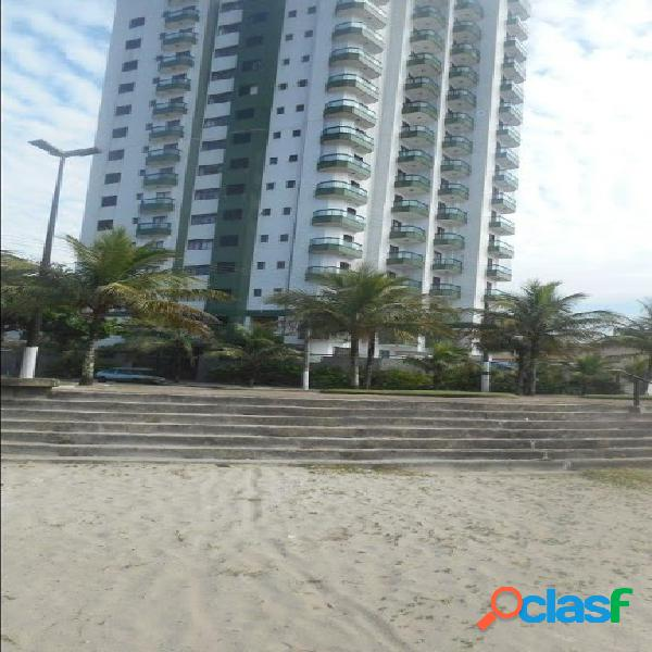 Oportunidade única - apartamento pé na areia com 112m² e sacada com vista para o mar.