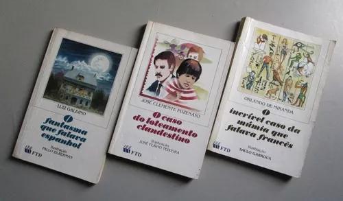 3 Livros Literatura Infanto Juvenil - Coleção Que