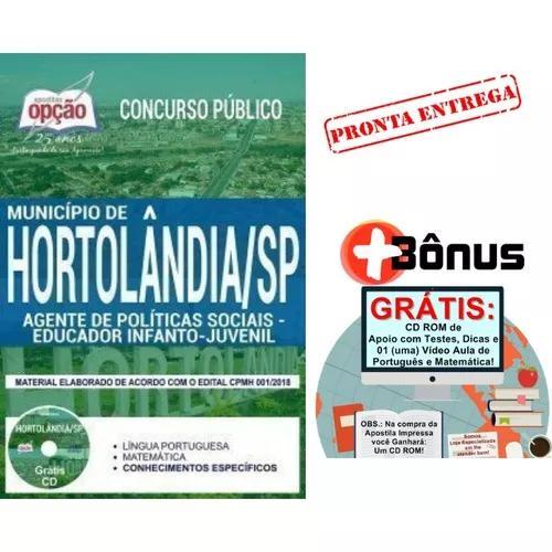 Apostila município de hortolândia 2018 educ infanto
