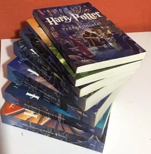 Box 7 livros harry potter coleção j.k. rowling - completo