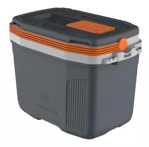 Caixa térmica suv 32l cinza termolar