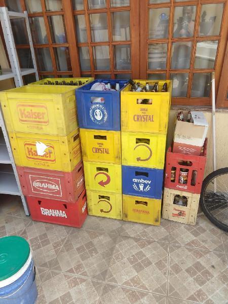 Caixa de garrafas