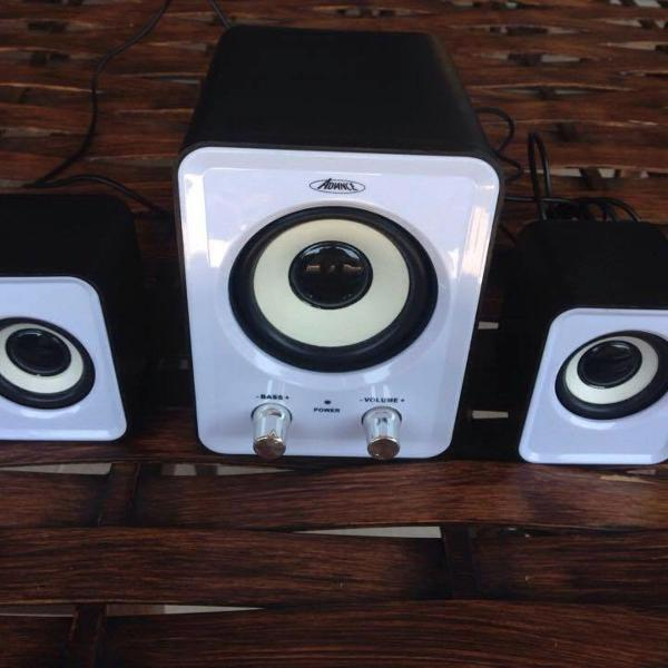 Caixa de som / amplificador advance sound phonic vendo