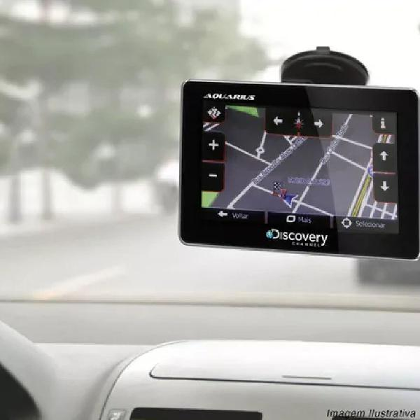 Gps automotivo discovery channel