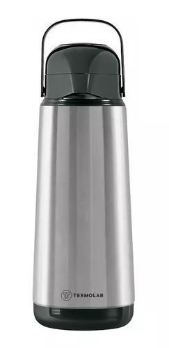 Garrafa térmica 1,8 litros inox lúmina termolar