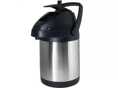 Garrafa térmica inox com alavanca inquebrável 2,5 litros