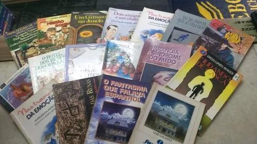 Kit livros infanto juvenil /paradidáticos/leitura 30 livros