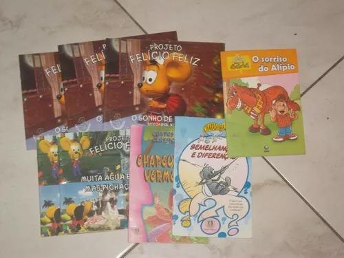 Livro- infanto juvenil - kit - 8 livros (infanto - juvenil)