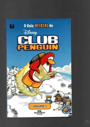 Livro o guia oficial do club penguin disney volume 1