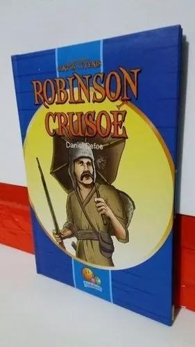 Livro robinson crusoé - os mais famosos contos juvenis
