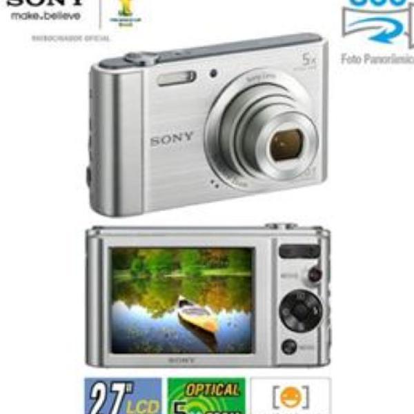 Camera fotográfica sony cyber shot w830 20.1mp zoom optico8