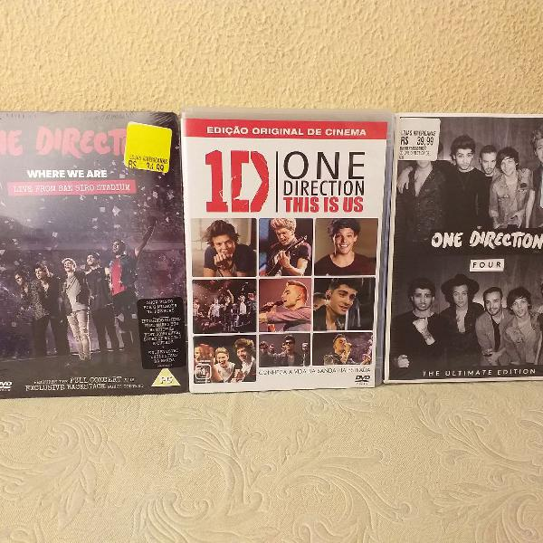 Cds deluxe one direction: four, where we are & this is