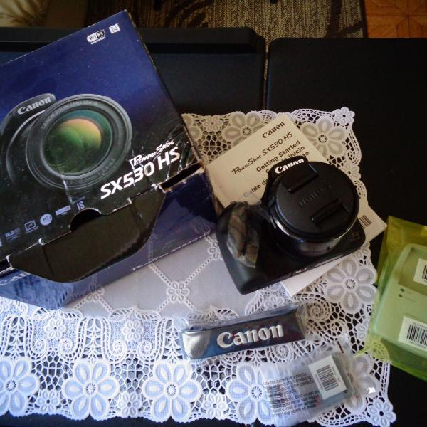 Câmera digital canon powershot
