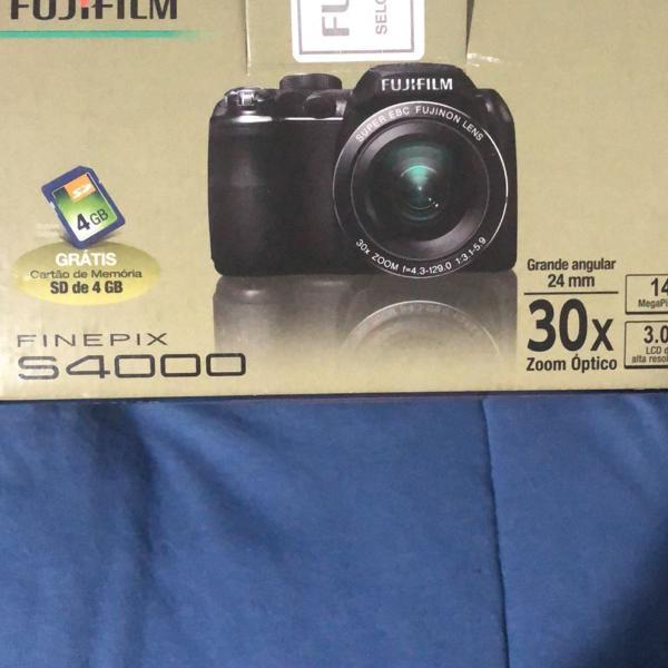 Câmera fotográfica fujifilm finepix s4000