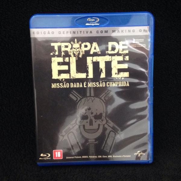 Filme blu-ray - tropa de elite