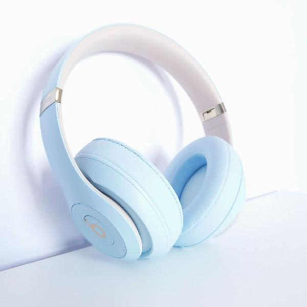 Fone apple beats studio wireless sky blue skyline collection