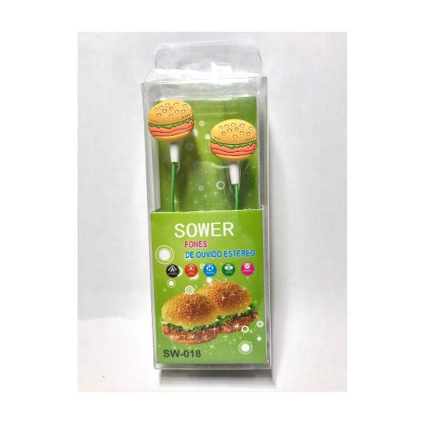 Fones de hambúrguer