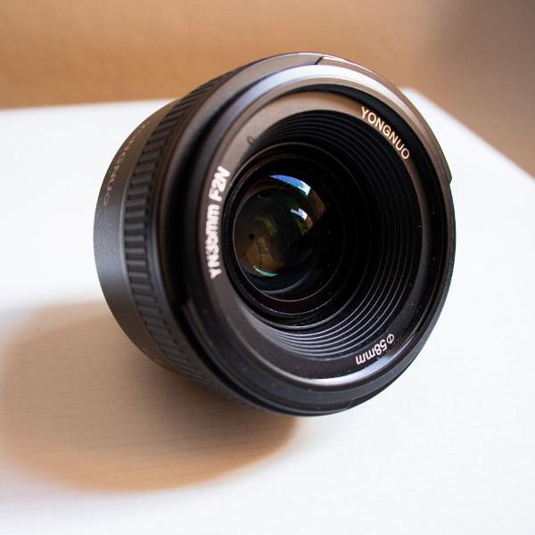 Lente yongnuo 35mm f/2 (para nikon)