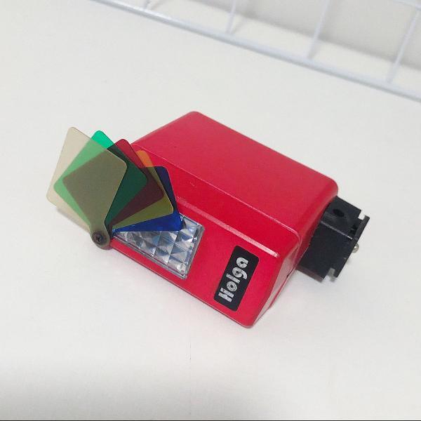 Mini flash holga lomography