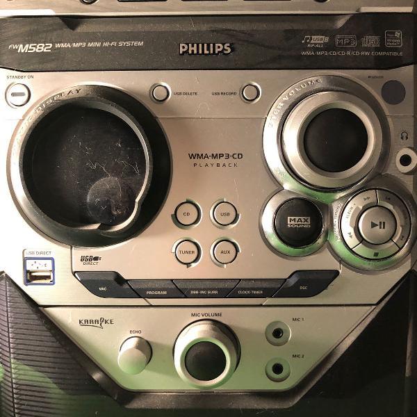 Mini hi-fi system com mp3