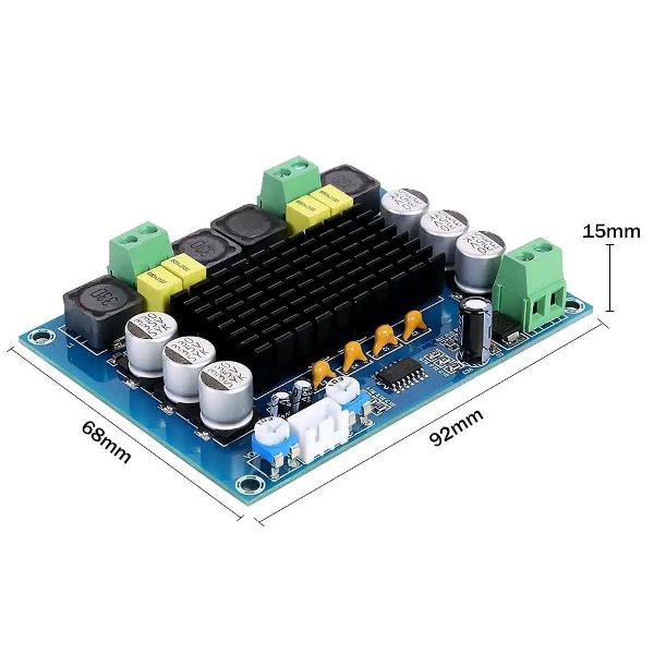Placa amplificador módulo automotivo 2 x 120 watts éstereo