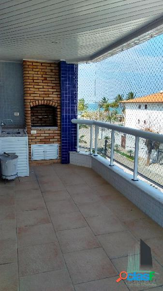 Apartamento vista mar 50,00m do mar da praia grande ubatuba