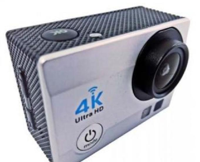 Câmera filmadora 4k action + cartão 32gb