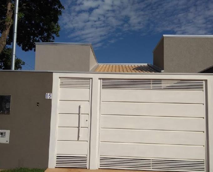 Vendo casa nova nova no j. presidente c.g ms r$ 180.000,00