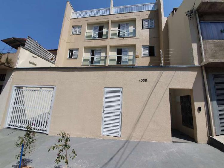 Apartamento cobertura 79m² pronto - vila helena santo