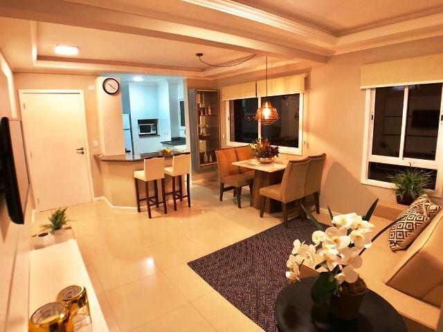 Apartamento de 03 dormitórios, mobiliado e decorado, no