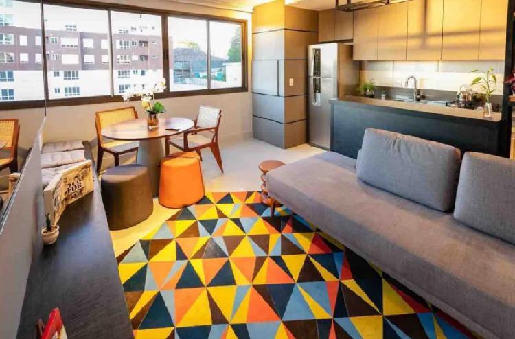 Apartamento novo, mobiliado e decorado | pronto para morar