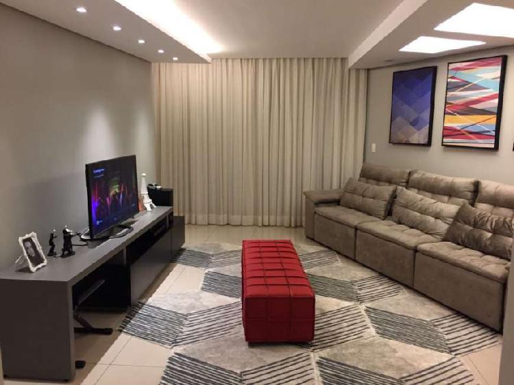 Apartamento alto luxo com 185 m2, vista definitiva, 5