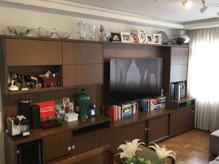 Apartamento itaim - reformado, mobiliado com ar