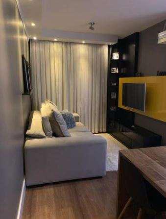 Apartamento mobiliado e decorado para venda 65 m, sendo 2
