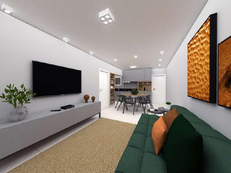 Apartamento renovado a venda, 2 quartos, suíte, closet,