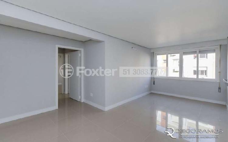 Apartamento com 77 m2 privativos, 02 dormitórios, vaga,