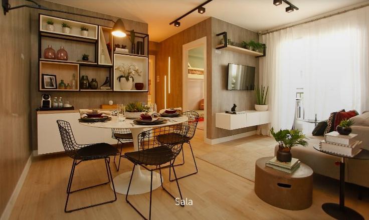Apartamento de 2 quartos com suíte, no mesmo terreno do