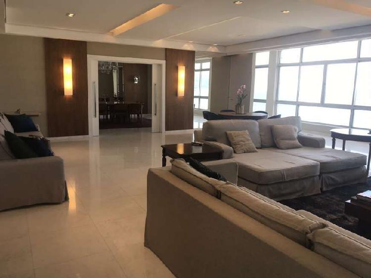 Apartamento para aluguel possui 600 metros quadrados com 5