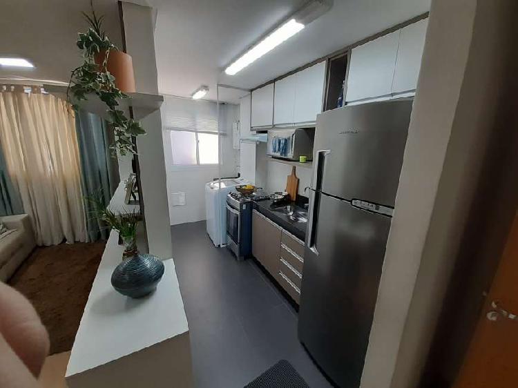 Apartamento para venda com 36 metros quadrados com 2 quartos