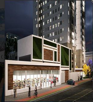 Apartamento para venda possui 38 m² com 2 quartos em vila