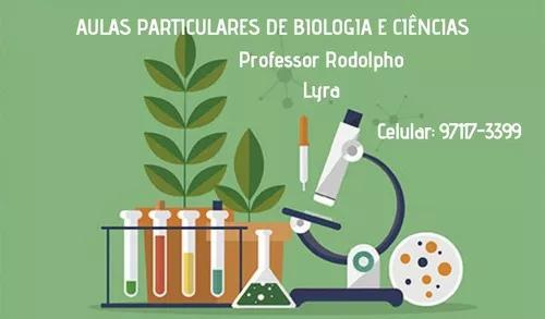 Aulas particulares de biologia, física e química